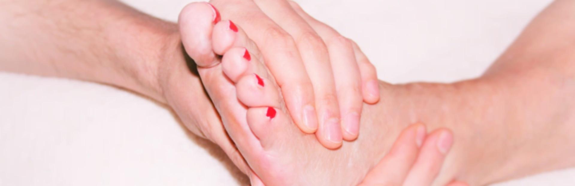 Riflessoterapia al piede